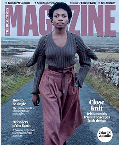 Cover of IRISH TIMES Saturday Magazine 1