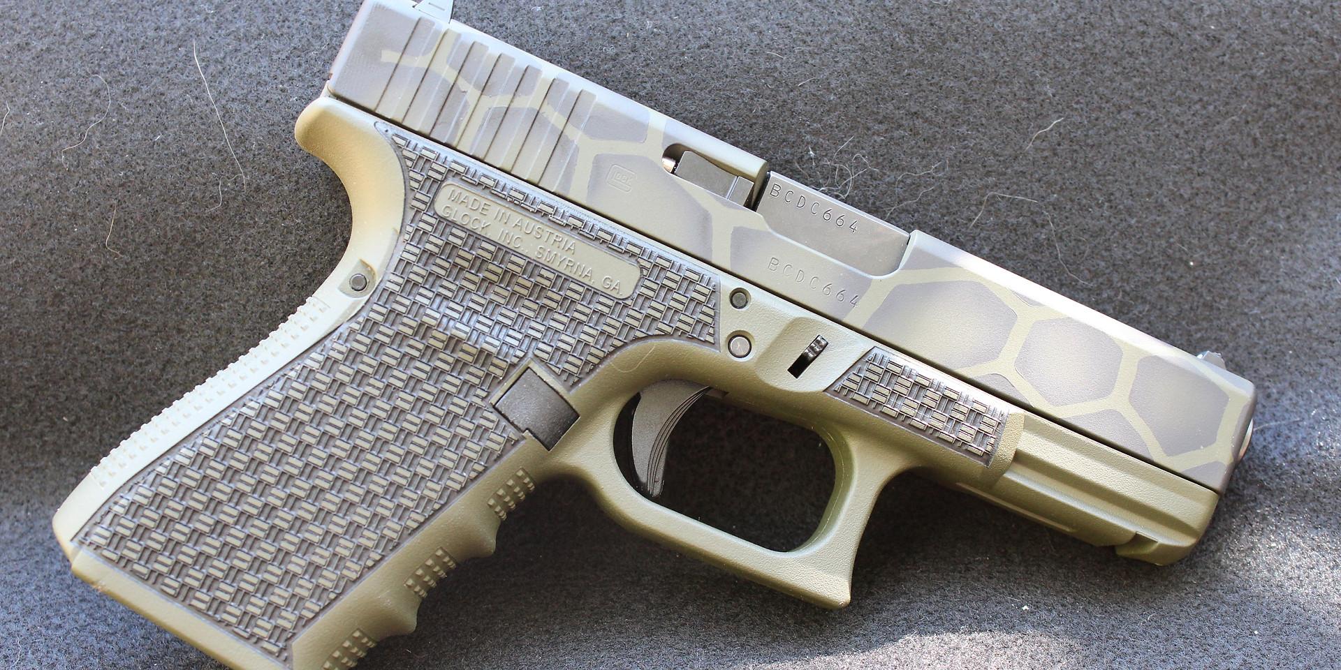 3D effect on Glock 19 Gen 4