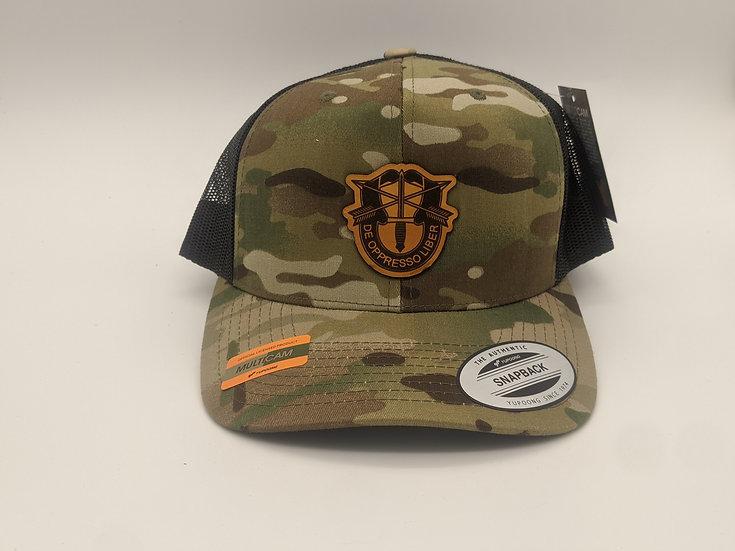 Special Forces crest- Multicamo hat