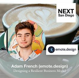 Coffee 2021-06-24 Adam French emote desi