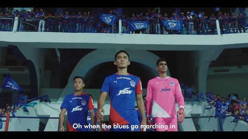 Bengaluru Football Club #UnitedForBlues