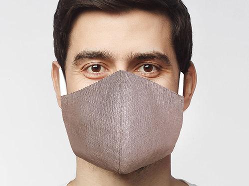 Large Reusable Mask Mens Khaki (1)