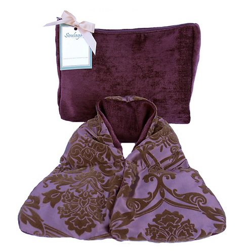 Purple Neck Wrap