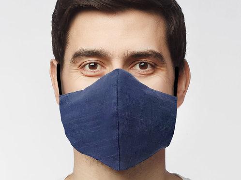 Large Reusable Mask Mens Denim (1)