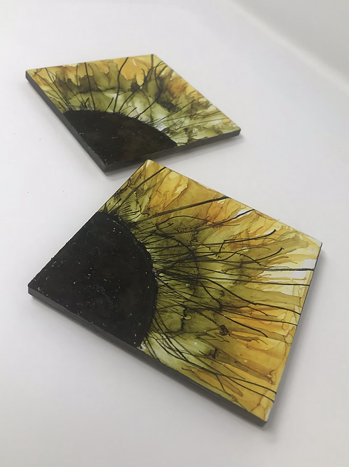 Alcohol Ink and Oxidized paint