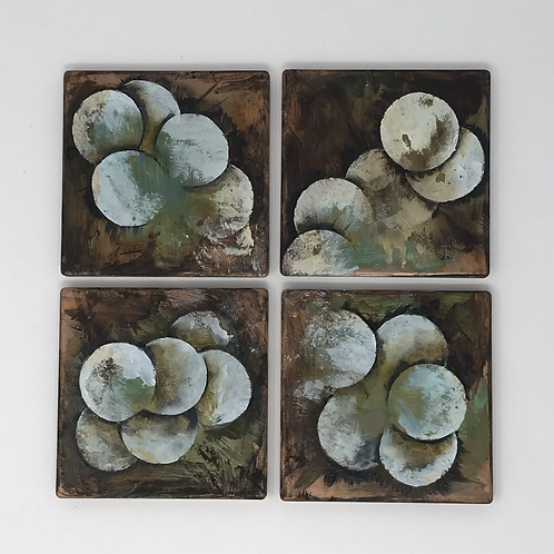 Hand Painter Coasters