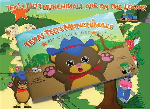 Texas Ted's Munchimals are on the Loose Kit
