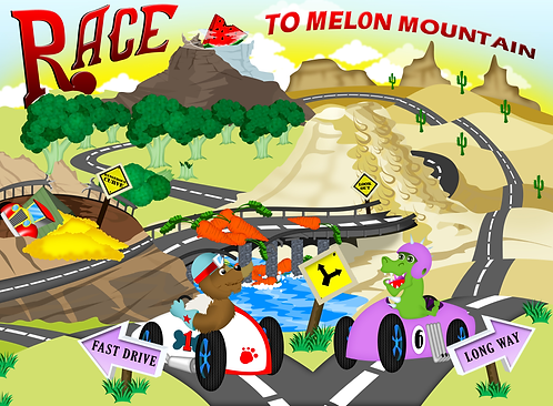 Race to Melon Mountain Placemat Add-On