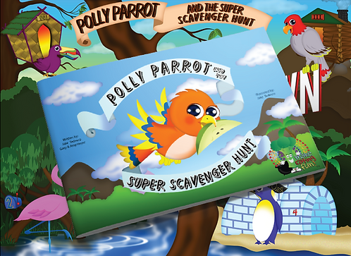 Polly Parrot and the Super Scavenger Hunt Kit