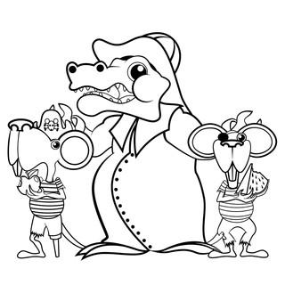 Captain Croc and the Pie-Rats