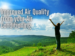 Improved Air Quality from your Air Conditioning