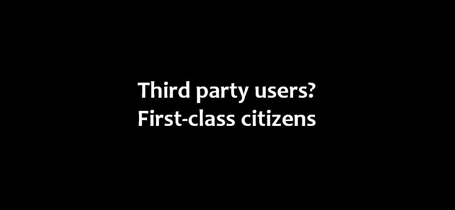 Cloudflare - Third party users