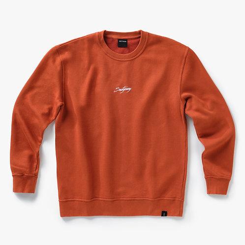 Signature - Sweater - Rusty Orange