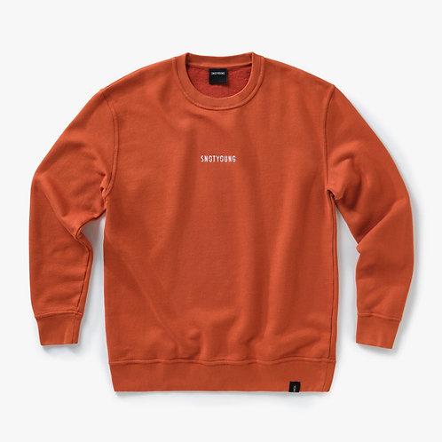 Essential - Sweater - Rusty Orange