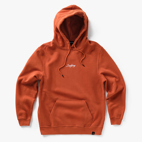 World - Hoodie - Rusty Orange
