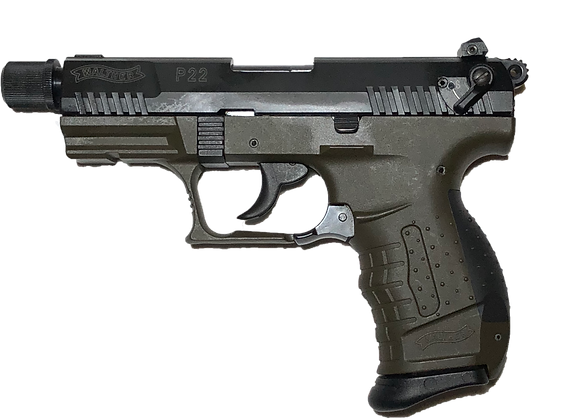 Walther P22 Military With Accessories