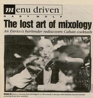 Bay Guardian August 1992 Paul Harrington