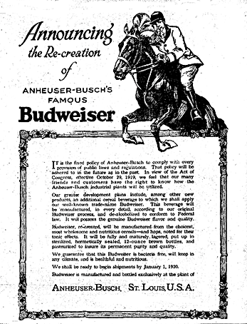 1919_Budweiser_ad_for_alcohol_free_beer.