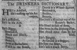 ben franklin drinker's dictionary pennsy