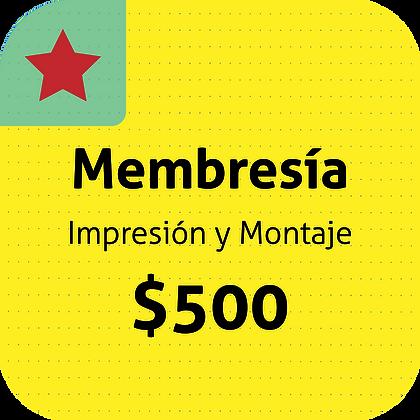 Membresía 500