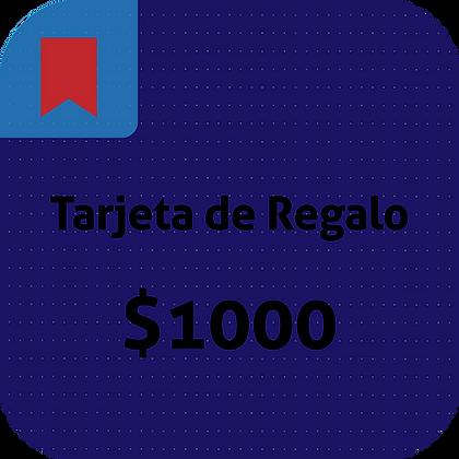 Tarjeta de Regalo // 1000