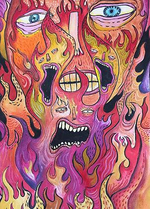 Carolina Castañeda // Nos están quemando
