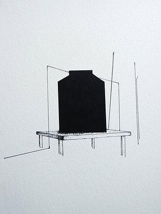 Santiago Rojo // Obra negra