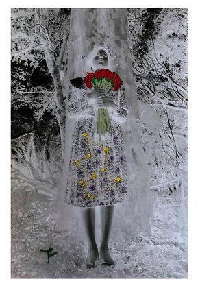 Lizette Flores  // De la serie Ofrenda a mi misma
