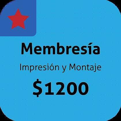 Membresía 1200