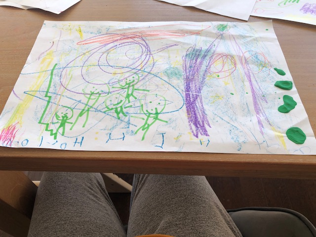 Sophie's outer space and astronauts!