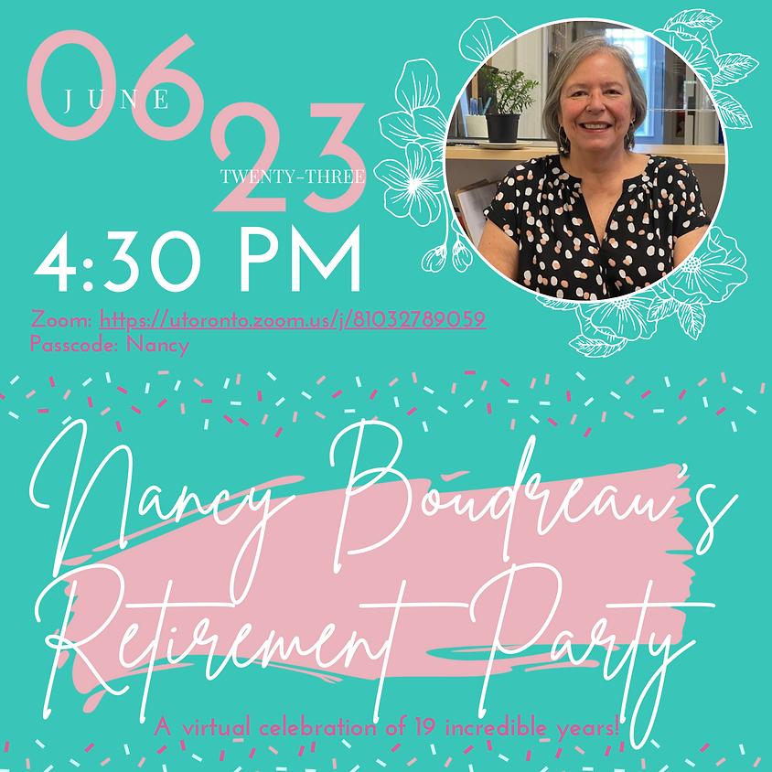 Nancy Boudreau's Retirement Party!