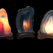 Agate Lamps