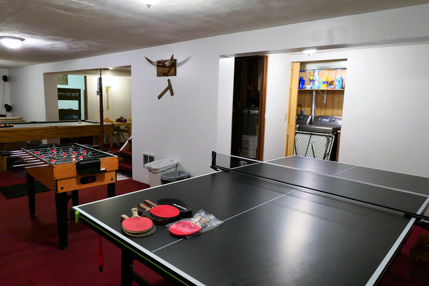 Downstairs Game Room