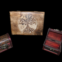 Wood Carvings & Boxes