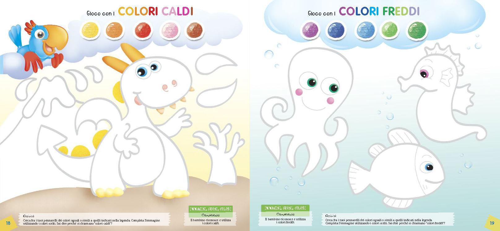 Colori caldi e colori freddi