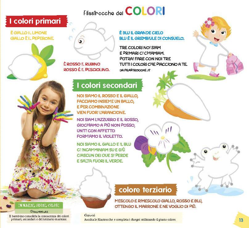 Filastrocca dei colori