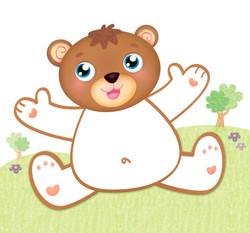 Marrone è l'orsetto