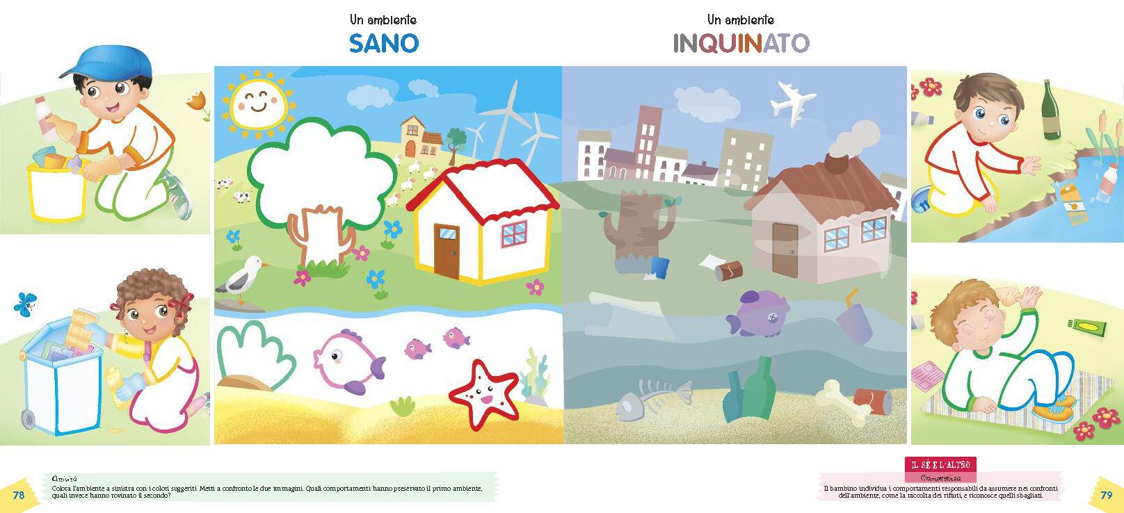 Ambiente sano e inquinato
