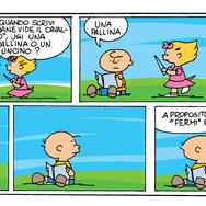 Charlie Brown · Colorazione Digitale