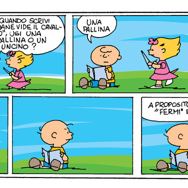 Charlie Brown · Colorazione Digitale
