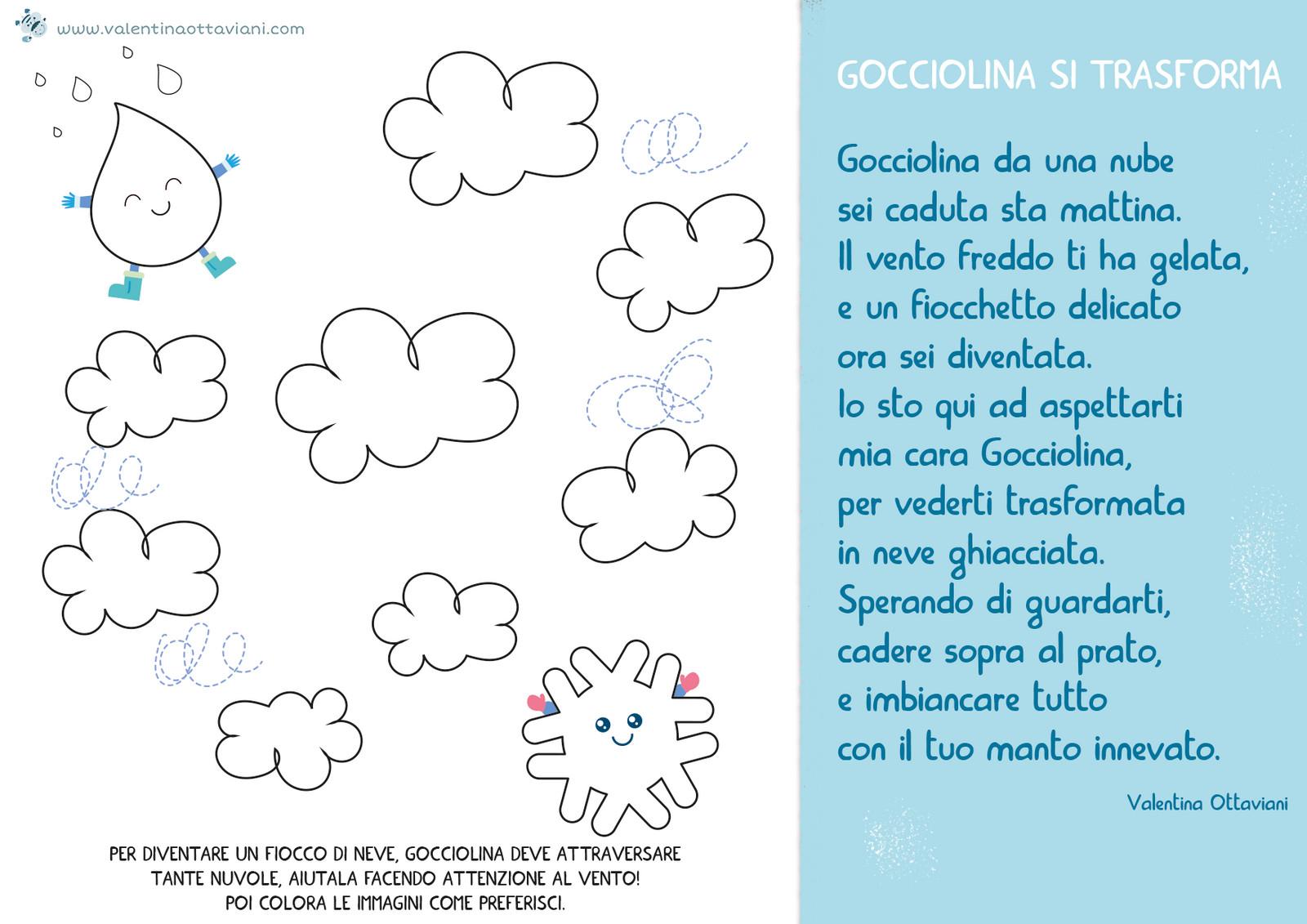 Poesia Gocciolina