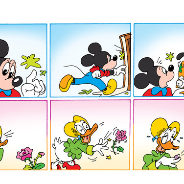 Topolino · Colorazione Digitale