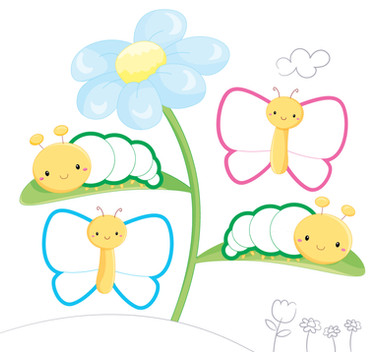 Sopra sotto le farfalle