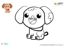 Cagnolino Toto da colorare