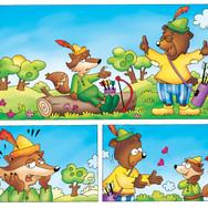 Robin Hood Colorazione