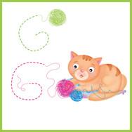 G di Gattino - Alfabeto