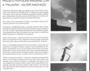 2ª matéria do Trecho na Revista OCAS