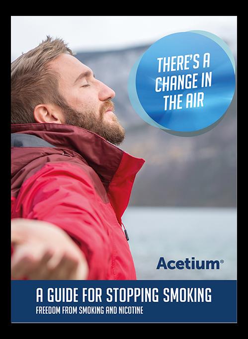 Let Acetium help you quit smoking