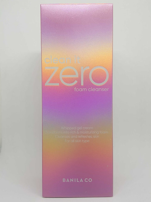 Banila Co. Clean it zero foam cleanser - Front view