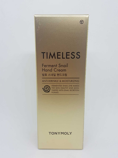TonyMoly Timeless Fermented Snail Handcream -  Front view